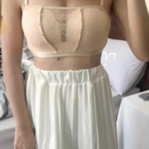 Tief-V™ Sommer Damen bügelloser und trägerloser Spitzen BH photo review