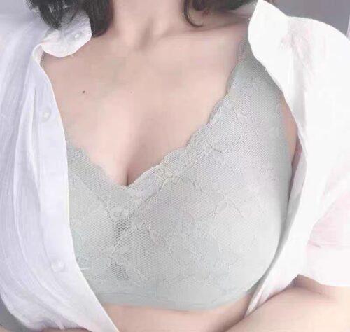 Hyaluronsäure bügelloser nathloser BH Fördert Brustzirkulation photo review